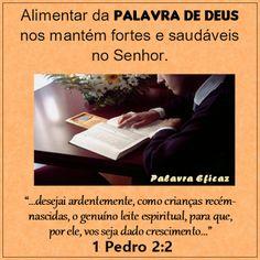 Promessas para hoje: Sem apetite-1 Pedro 2:2