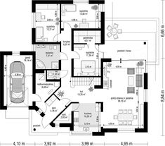 Residential Building Plan, Soho, Bungalow, House Plans, Floor Plans, Construction, Flooring, How To Plan, Bathroom