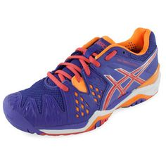 Tennis Shoes for Women Tennis Store, Shoes Tennis, Asics Shoes, Asics Women, Court Shoes, All Brands, Memory Foam, Things That Bounce, Coral