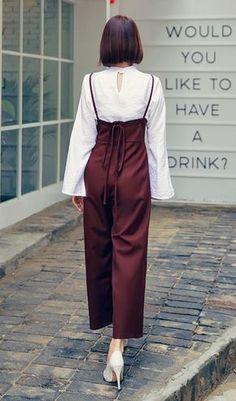 Korean's Women Fashion Hotping korean fashion – Fashions Korean Fashion Trends, Korean Street Fashion, Korea Fashion, Asian Fashion, Look Fashion, Womens Fashion, Fashion Design, Korean Women Fashion, Fashion Styles