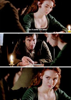 """Has it come too late? Demelza?"" - Ross and Demelza #Poldark"