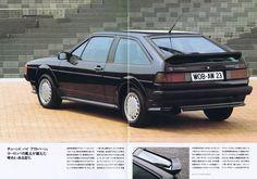 1989 VW Scirocco GTX 16v from Japanese brochure