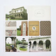 Make Ideas Happen: Project Life: Travel / The Ruins, Bacolod Project Life Vintage Travel Edition DIY Shop Value Kit Project Life Travel, Bacolod, Diy Shops, Vintage Travel, Diy Gifts, Layout, Graphic Design, Explore, Shit Happens