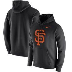 San Francisco Giants Nike Club Hoodie - Black
