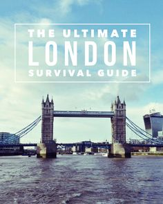 Click below for my tips on how to survive London