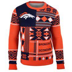 Denver Broncos Ugly Christmas Sweaters