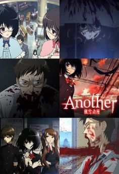 Day 5- an anime I'm ashamed of enjoying... that would be Another... because I like watching the deaths (I also laughed at some of them)... don't judge me!!!
