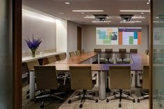 Sleek Conference Room - The Stuart Foundations New Offices