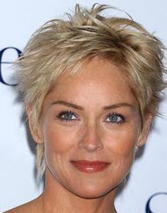 Image detail for -short messy and spunky a la sharon stone s past look