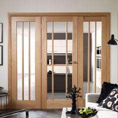Easi-Frame Oak Door Set, GOWOR-COEOP23, 2005mm Height, 2214mm Wide. #xljoinerydoor #internalworcesterdoor #internaloakdoor