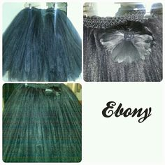 God's Child Creations Inc presents Ebony (adult all black tutu)