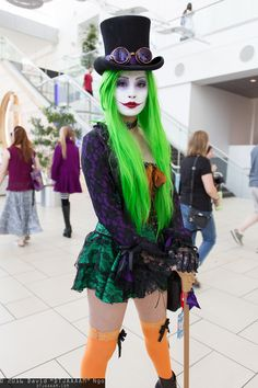 Duela Dent (Batman) from DC Universe #cosplay at Denver Comic Con 2016