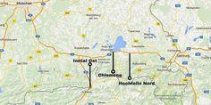 Kindvriendelijke parkeerplaatsen in Duitsland op weg naar Oostenrijk.