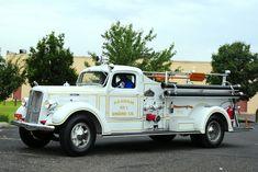 1941 Mack pumper truck