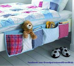 Bed pockets. Good idea. No instructions.