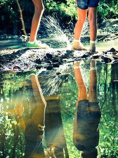 fun reflection by kirstinmckee via flickr