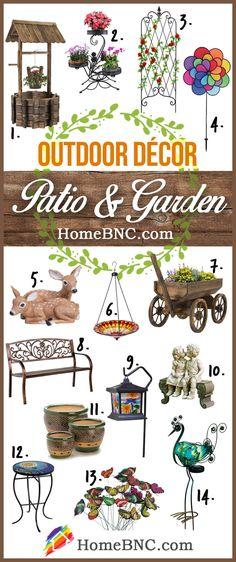 Patio and garden Outdoor Decoration Ideas