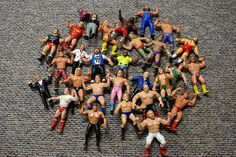 My favourite toys as a child were WWE wrestlers. swimming, the park, etc. My parents spent a fortune on wrestlers. They never broke and were addictive to play with since I wanted to try different moves (moves I watched on the TV). Wwf Toys, Children's Toys, Childhood Toys, Childhood Memories, Wrestling Superstars, Ol Days, Good Ol, Best Memories, Back In The Day