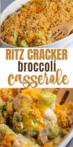 Ritz Cracker Broccoli Casserole