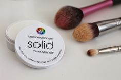 The Lazy Guide to Brush Cleaning ~ Chloe Perkins Beauty blender solid cleanser