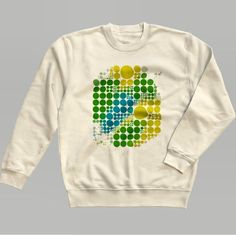 こっちは先ほどのTシャツのスウェットタイプ写真はクリーム色ですが他にも緑や紫もありますよーhttp://ift.tt/1L089YS