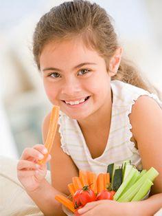 image for Cómo hacer que los niños coman verduras