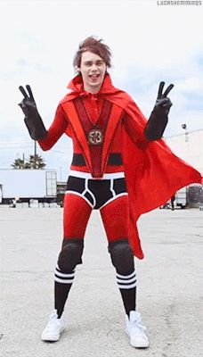 Mike-ro-wave . can i dress up like this for halloween? Why have I not seen this before?!?!?!
