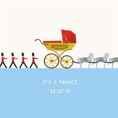 "royalwatcher: ""It's a Prince"" by Windsor-based creative design platform Studio Velardi © 2013"