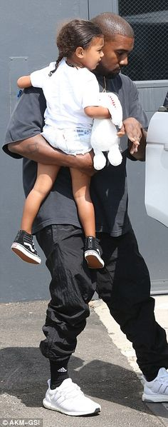 Meanwhile:As West enjoyed some quality family time, the rapper was all business when he took to Twitter earlier that same day