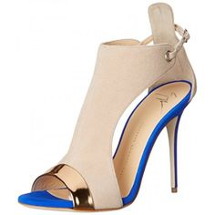 Giuseppe Zanotti Women's E60263 Dress Sandal, Shooting Ramino, 7 M US