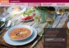 Recevoir dehors - La Presse+ Brunch, Ramen, Ethnic Recipes, Food, Gazpacho, Cream Soups, Sprouts, Healthy Meals, Cooking Food