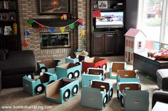 """This """"Mater's Tall Tales Drive-In"""" is too cute!  Perfect for a Cars birthday party!"""