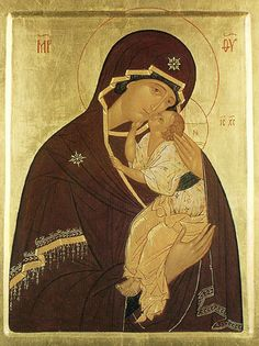 The Yaroslavsk Icon of the Mother of God