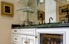 Traditional Kitchens by Bellasera Kitchen Design Studio - Calgary Double Vanity, Kitchen Design, Traditional Kitchens, Calgary, Bar, Studio, Home, House, Traditional Kitchen