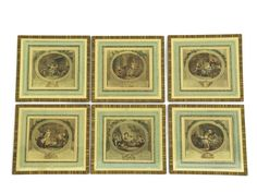 10% Off Set of Six 18th Century Framed French by LeBonheurDuJour #vogueteam #frenchengavings #wallart #christmasgifts