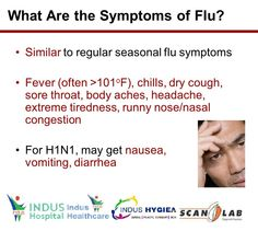 What are the symptoms of FLU ?