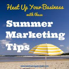 Summer Marketing Tips |Web Navigator Gal