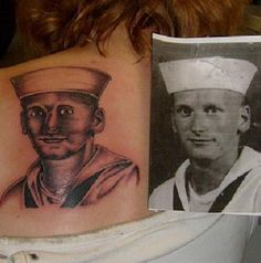 The artist who obviously has a thing against sailors. | 31 Tattoo Artists Who Should Be Fired