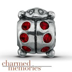 Kay - Charmed Memories® Lady Bug Charm Sterling Silver ***super cute***