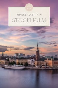 Stockholm is made up of 14 islands and is a beautiful city. This Stockholm Travel Guide is filled with travel tips to help you get the most from your trip! Travel Around Europe, Europe Travel Tips, Travel Deals, Travel Guides, Travel Destinations, Travel Hacks, Bora Bora, Stockholm Travel, Stockholm Sweden