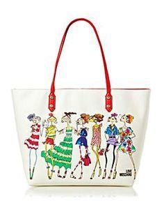 82b98610961 Love Moschino - Charming large tote bag
