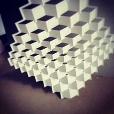 Folding project afoot.... #elodberegszaszi #kiriorigami #origami #origamic #origamicarchitecture #popupology #kineticpaper #kinetic