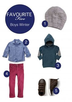 Toddler Boy Clothes for Winter - Blog Post.