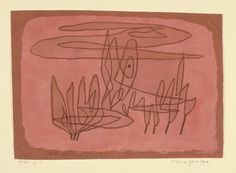 Paul Klee  'Baumgruppe' (Coppice or Cluster of Trees [my own attempt at translation g.s.])