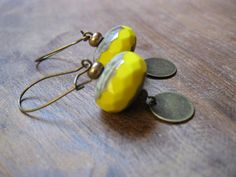 Ethnic inspired earrings by AllGypsies on Etsy