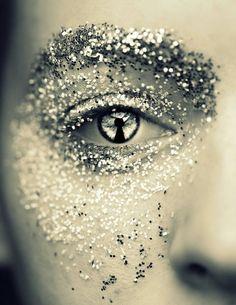 calice mulher, glitter