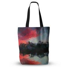 "Oriana Cordero ""Montserrat"" Pink Black Everything Tote Bag"