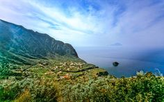 """Il Postino - Village of Malfa - Salina, Aeolian Islands, Italy """"Malfa, a tiny village on the island Salina, became the setting for a film on Pablo Neruda's exile in Italy. Neruda has never been there, instead he was staying on the island of Capri."""" by Martin Liebermann on Flickr"""