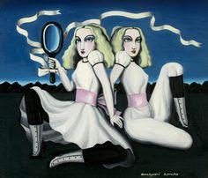 Two Alices by Kuniyoshi Kaneko