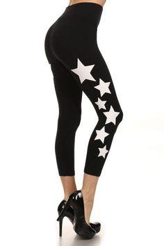 """""""Star"""" Capri Leggings"""